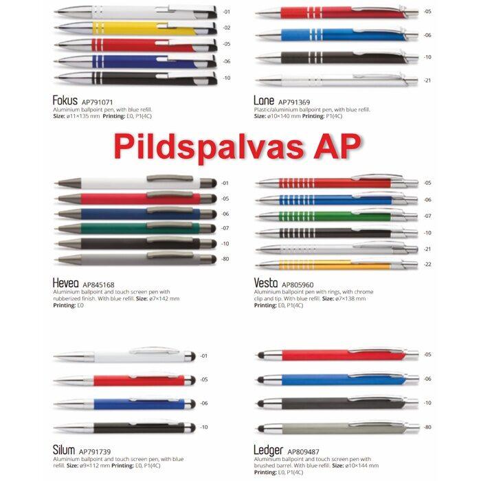 Metāla pildspalvas Katalogs-AP-M