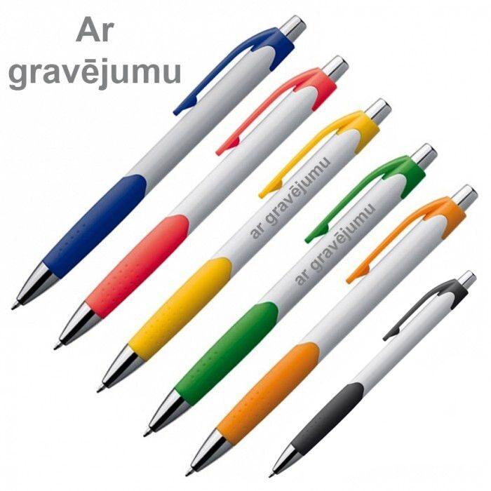 Plastmasas pildspalvas EG7899-GR ar gravējumu