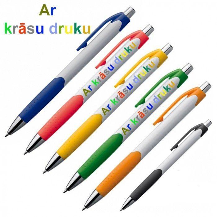 Plastmasas pildspalvas EG7899-KR ar krāsu druku