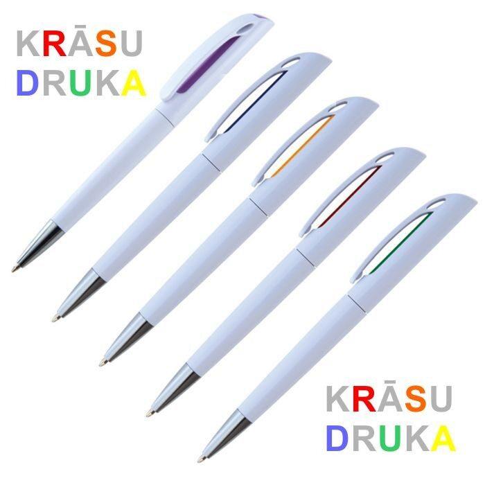 Plastmasas pildspalva ar krāsu druku EG0919-KR