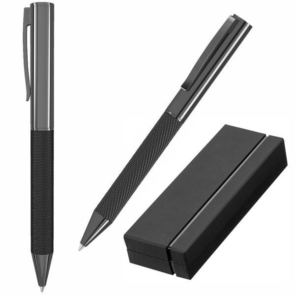 Eleganta metāla pildspalva UP09350-K-GR ar gravējumu