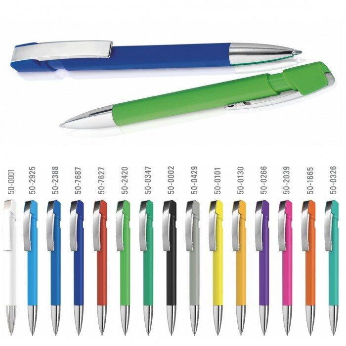 Plastmasas pildspalva ar metāla klipsi UP-0-0125-G